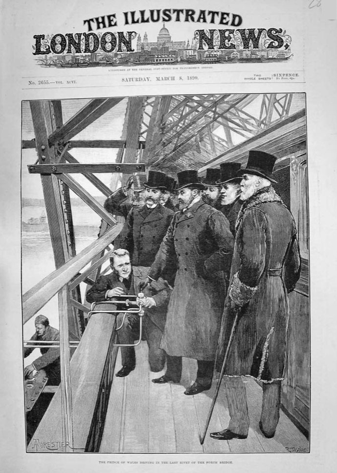 Front cover of the Illustrated London News from 8 March 1890