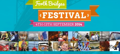 Image of the programme cover for the Forth Bridges Festival
