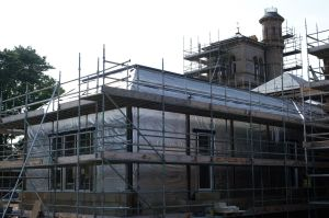 New build extension on site of the old conservatory